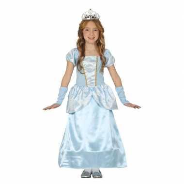 Disney blauw prinsessen verkleedjurkje voor meisjes frozen