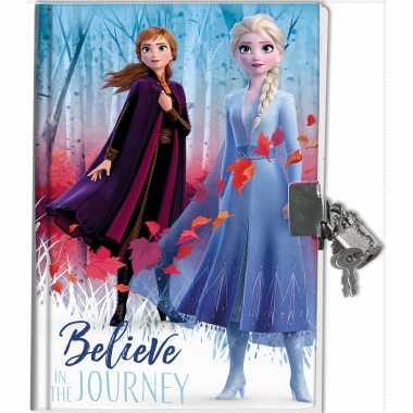 Disney frozen 2 dagboek met slotje