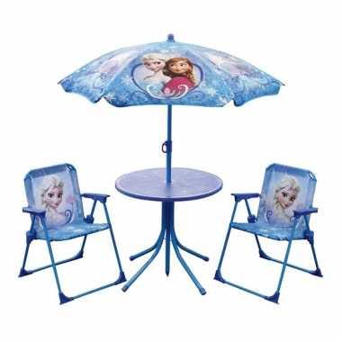 Disney Frozen buiten meubilair 4 delig
