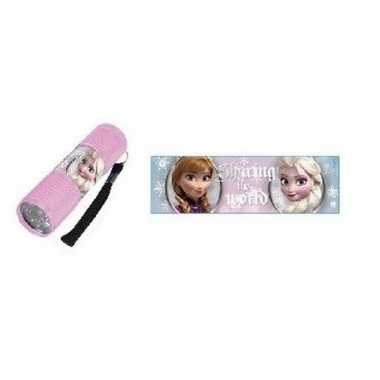 Disney frozen led zaklamp sharing lichtroze