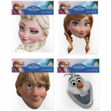 Disney frozen maskers set van karton