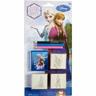 Disney  Frozen stempel set 5 delig