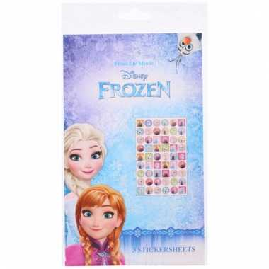 Disney frozen stickervellen 108 stickers