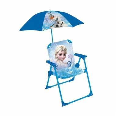 Disney Frozen strandstoel met parasol