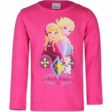 Disney  Frozen t-shirt fuchsia