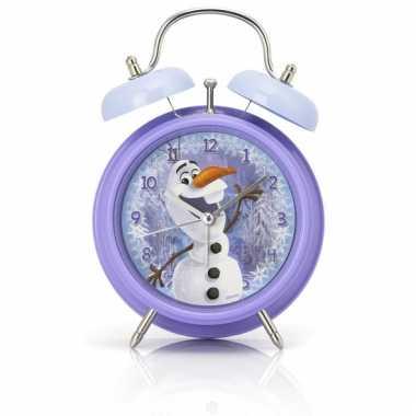 Disney frozen wekker olaf