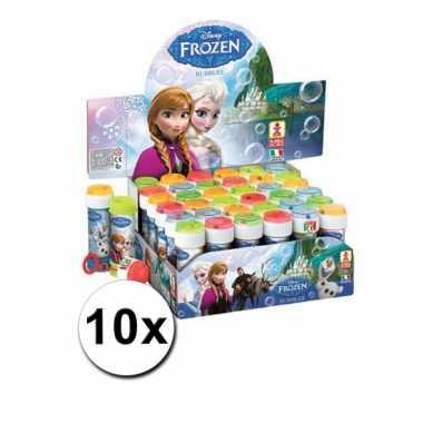 Disney  Grootverpakking Frozen bellenblaas 10x