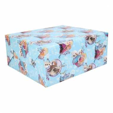 Disney kerstcadeau inpakpapier frozen 1 rol