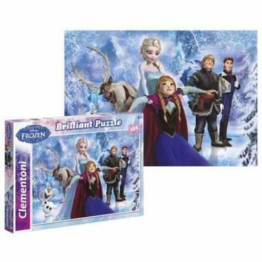 Disney  Puzzel van Anna Elsa en Olav frozen