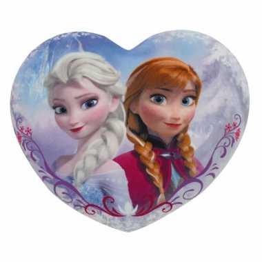 Hartvormig Disney kussen Frozen