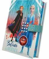 Disney frozen 2 dagboek met geheime code