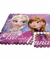 Disney frozen puzzel speelmat foam tegels 30 x 30 cm 9 stuks
