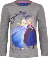 Disney frozen shirt grijs voor meisjes