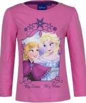 Disney frozen shirt roze voor meisjes