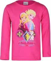 Disney frozen t shirt fuchsia