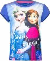 Disney frozen t-shirt paars voor meisjes