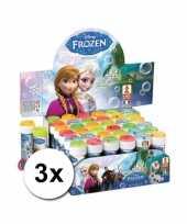 Disney grootverpakking frozen bellenblaas 3x