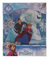 Disney weggevertjes puzzeltjes van frozen 9x